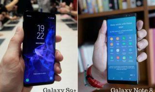 Galaxy S9 Plus vs Galaxy Note 8 : quel modèle choisir ?