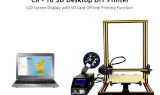 Bon plan : Imprimante 3D Creality3D CR-10 à 323 euros au lieu de 364 euros !