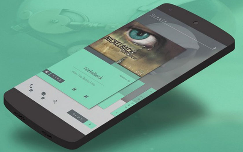 Installer widget Android