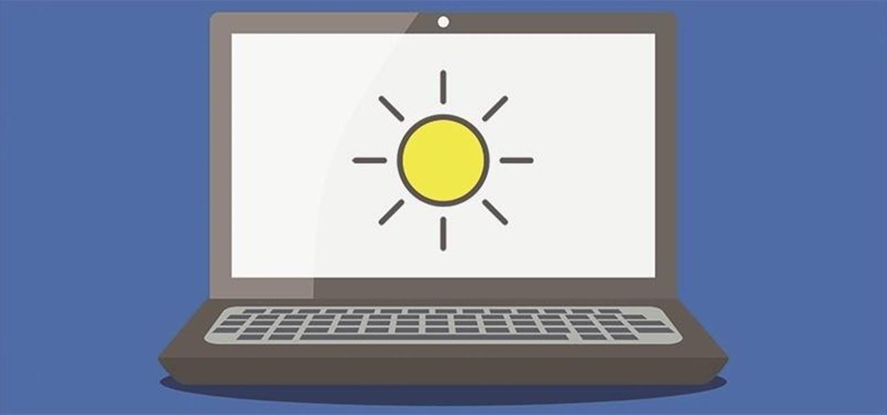 Modifier luminosité écran Windows 10