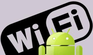 Android mot passe wifi