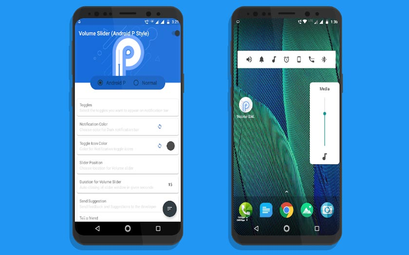 Android p fonctionnalités