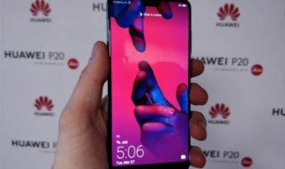 Huawei P20 : date de sortie, prix, fiche technique