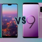 Huawei P20 Pro vs S9 Plus