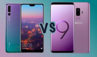Comparatif Huawei P20 Pro vs Galaxy S9 Plus : lequel est le meilleur ?