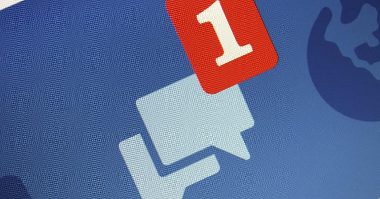 Lire message Facebook sans vu