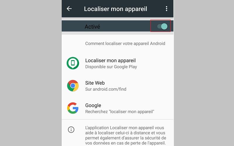 android   comment localiser un smartphone vol u00e9 ou