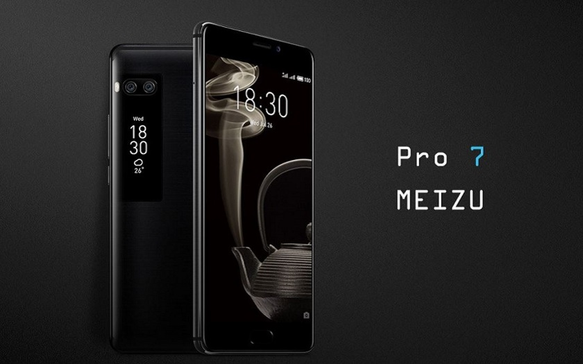 Meizu pro 7 à 248,47 € sur gearbest