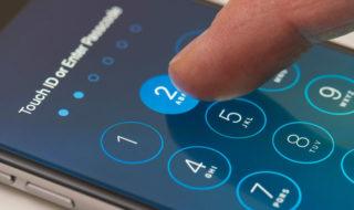 Réinitialiser mot passe iPhone