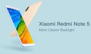 Bon plan : le Xiaomi Redmi Note 5 est dispo à partir de 150,28 €