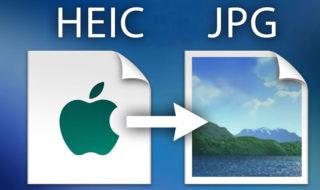 Comment convertir les photos HEIC en JPG dans iOS 11