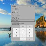 Conversion devise Windows 10