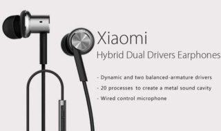 Bon plan : écouteurs intra-auriculaires Xiaomi Mi IV à 13 euros