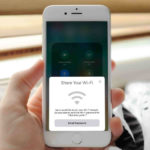 Partager mot passe wifi iPhone