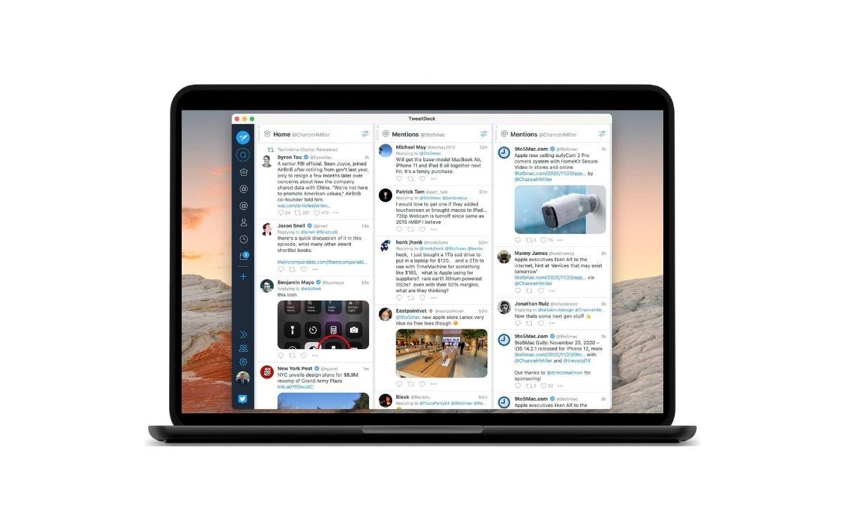 TweetDeck Mac