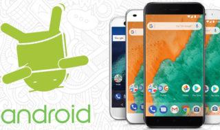 Les meilleurs smartphones sous Android stock en 2018