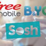 Bon plan forfait mobile Free B&You Sosh