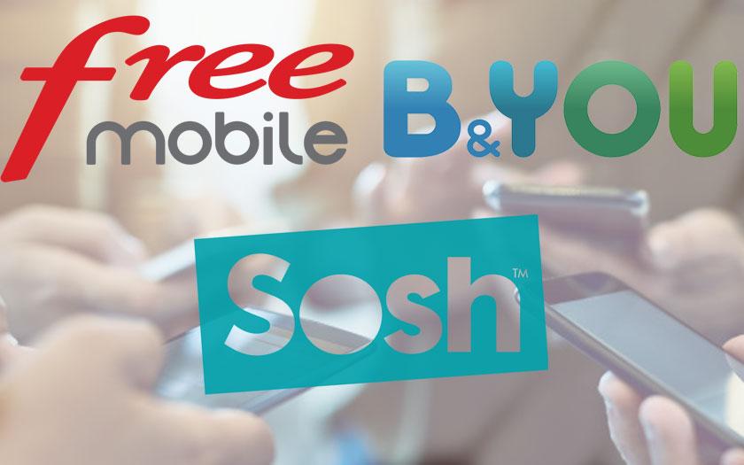 free mobile b you sosh sfr red tous les bons plans forfaits mobiles 5 par mois