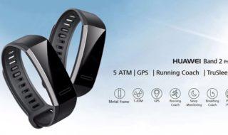 Bon plan : Bracelet connecté Huawei Band 2 Pro à 49 euros