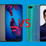 Comparatif Huawei P20 Honor 10