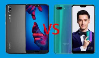 Comparatif Huawei P20 vs Honor 10 : lequel choisir ?