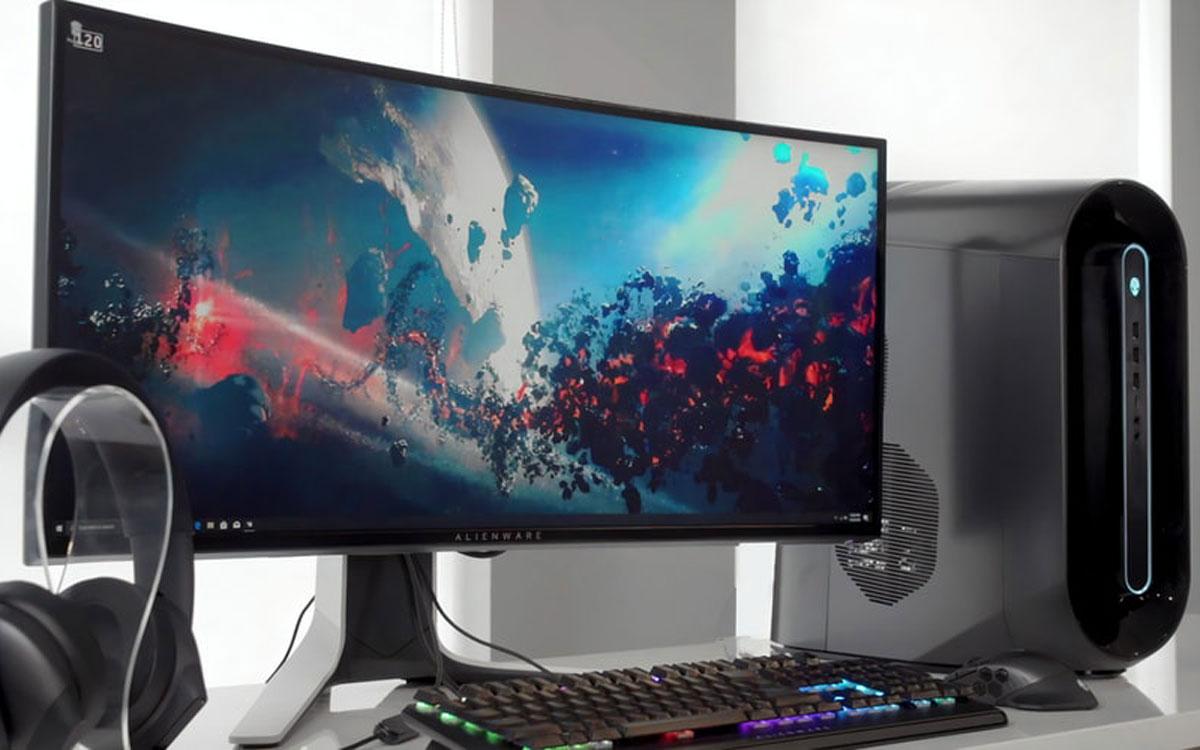 Ecran PC gamer