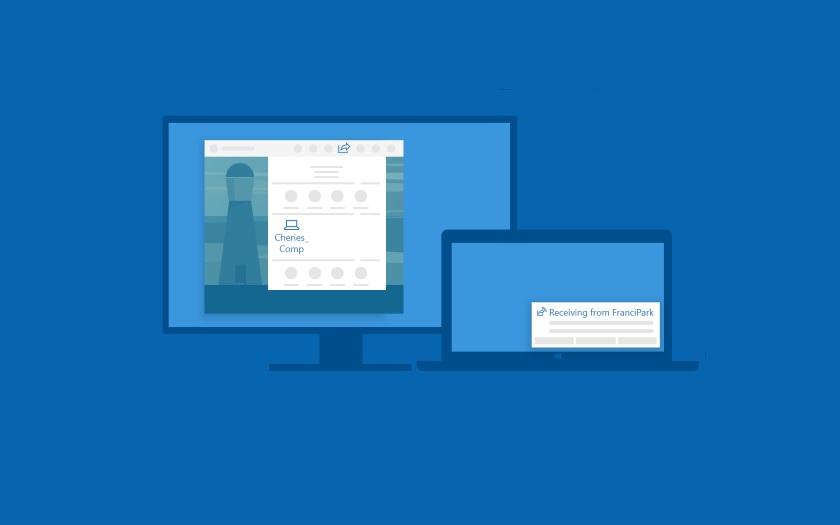 Partage Proximité Windows 10