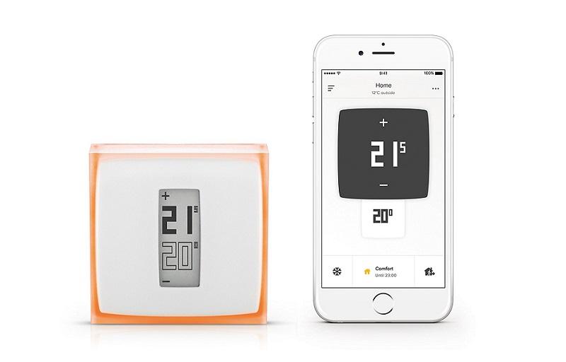 guide d 39 achat des meilleurs thermostats connect s en 2018. Black Bedroom Furniture Sets. Home Design Ideas