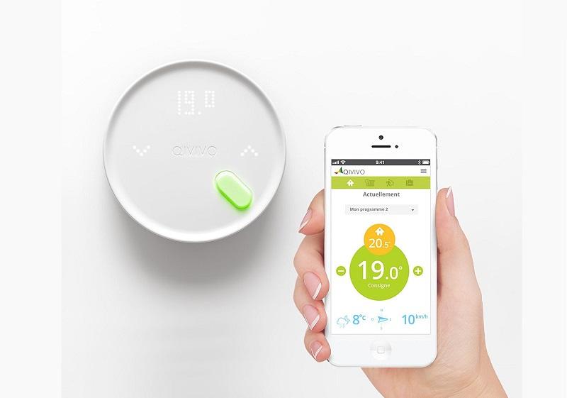 Thermostat connecte Qivivo