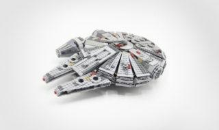 Bon plan : Set de construction Lepin vaisseau Star Wars Faucon Millenium à 34,19 €