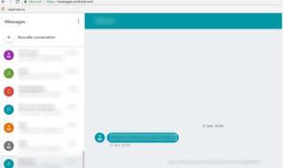 Android Messages pour le web : comment envoyer des SMS depuis un PC