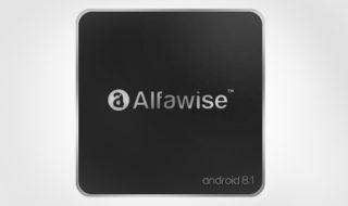 Bon plan : Box TV Alfawise A8 Android 8.1 moins chère à 26,11 €