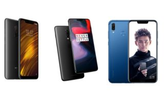 Xiaomi Pocophone F1 vs OnePlus 6 vs Honor Play : comparatif des meilleurs flagship killers du moment