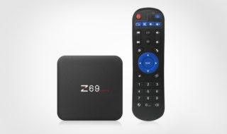 Bon plan : la box TV Android Z69 MAX II est à 46,42 euros