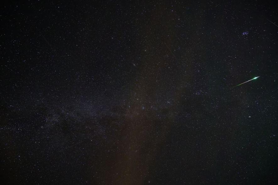 Perséides :  la pluie d'étoiles filantes
