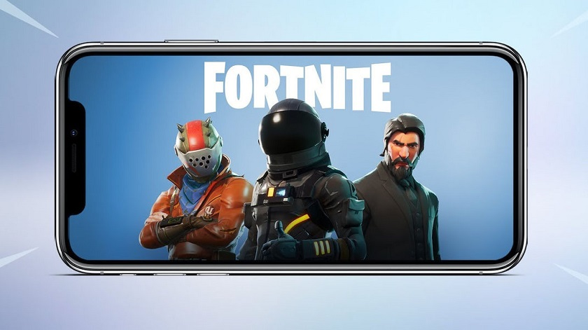 iPhone X Fortnite