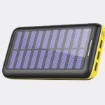Batterie externe - Chargeur solaire portable
