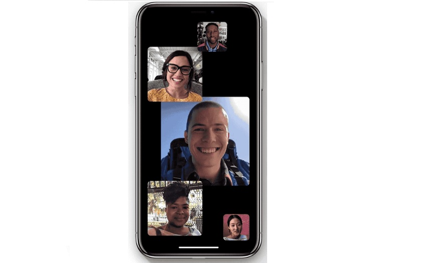 Facetime de groupe ios 12
