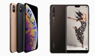iPhone XS vs Huawei P20 Pro