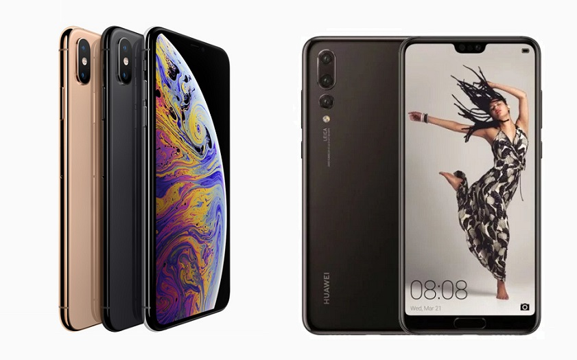 iPhone XS vs Huawei P20 Pro