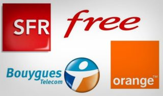 Orange Free Mobile Bouygues SFR