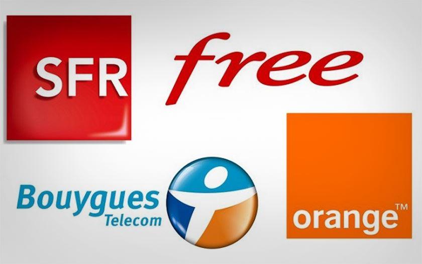 Orange Free Mobile Bouygues SFR, lequel a le meilleur réseau ?