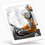 Application de dessin iPad