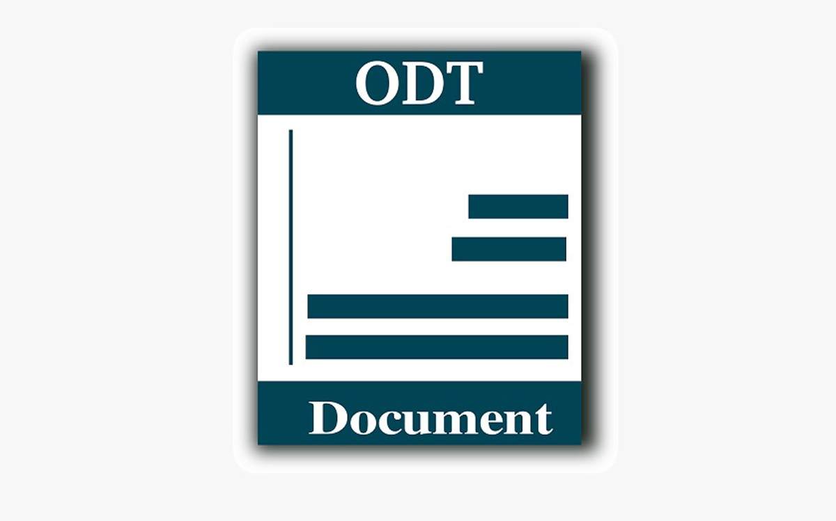Fichier ODT
