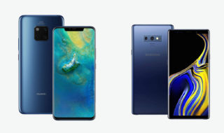 Huawei Mate 20 Pro vs Galaxy Note 9