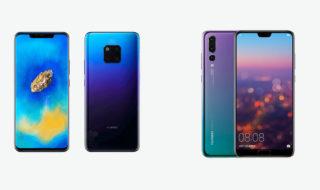 Comparatif Huawei Mate 20 Pro vs Huawei P20 Pro : quel est le meilleur Huawei de 2018 ?