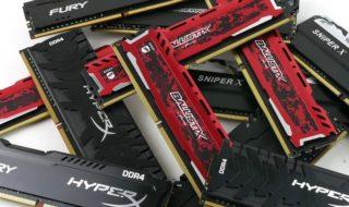 Les meilleures mémoires RAM DDR4 et DDR3 pour PC : quelle barrette choisir en 2019