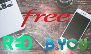 Forfait mobile en promo : Red by SFR, Free et B&You sont à prix réduit