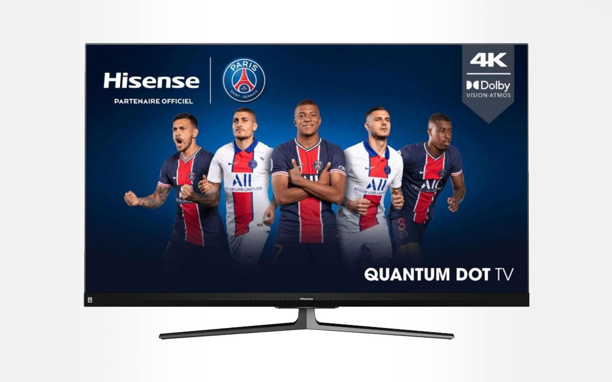 TV Qqled Hisense 55 U82QF
