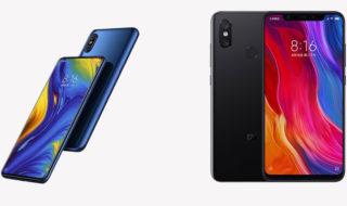Xiaomi Mi Mix 3 vs Mi 8